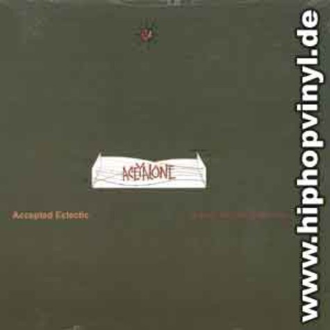 Aceyalone - Accepted eclectic / b-boy the real mc coy