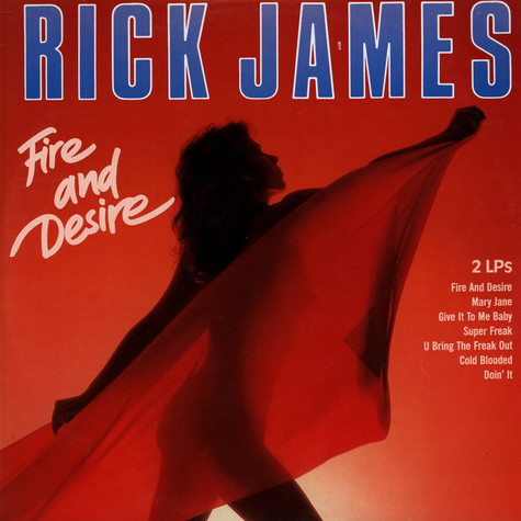 Rick James - Fire And Desire