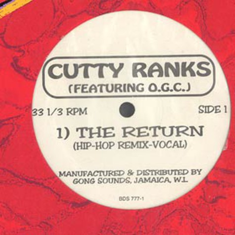 Cutty Ranks - The return hip-hop remix feat. O.G.C.