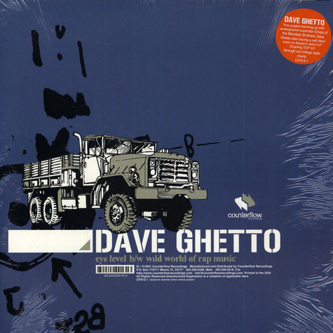 Dave Ghetto - Eye Level