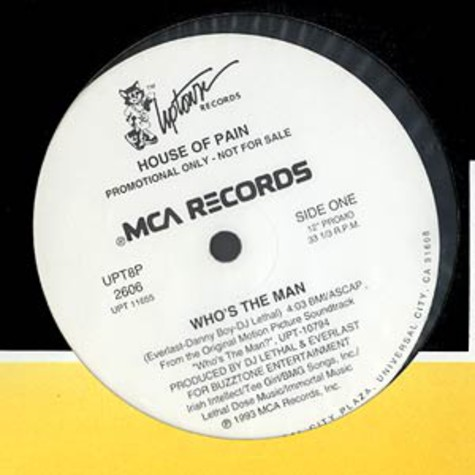 House Of Pain - Who's the man ?