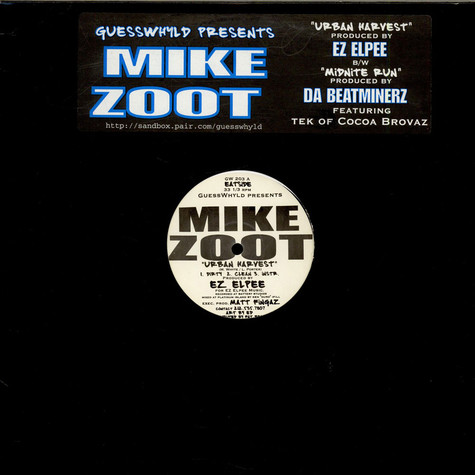 Mike Zoot - Urban Harvest
