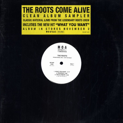 Roots, The - Come Alive (Clean Album Sampler)