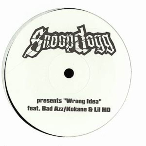Snoop Doggy Dogg - Wrong idea feat.Kokane, Bad Azz & Lil HD