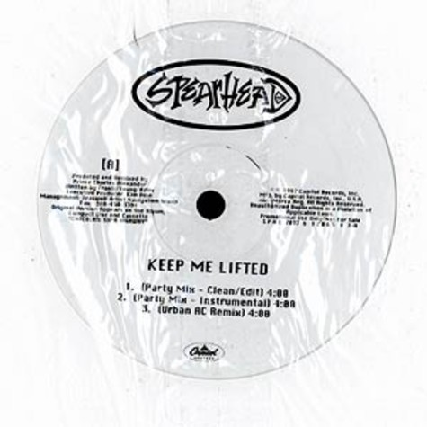 Spearhead - Keep Me Lifted