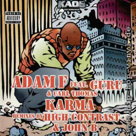 Adam F feat. Guru & Carl Thomas - Karma remixes