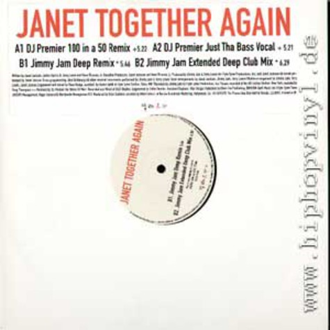 Janet Jackson - Together again DJ Premier remix