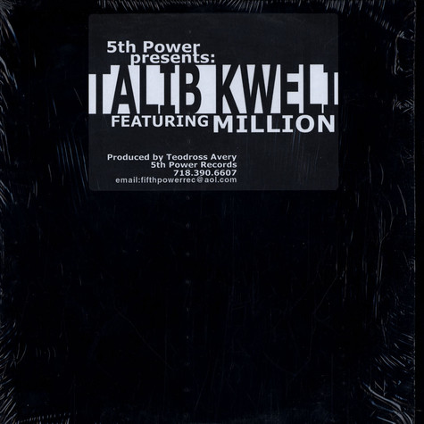 Talib Kweli / Million   - Here We Go / Nothin' But A Party
