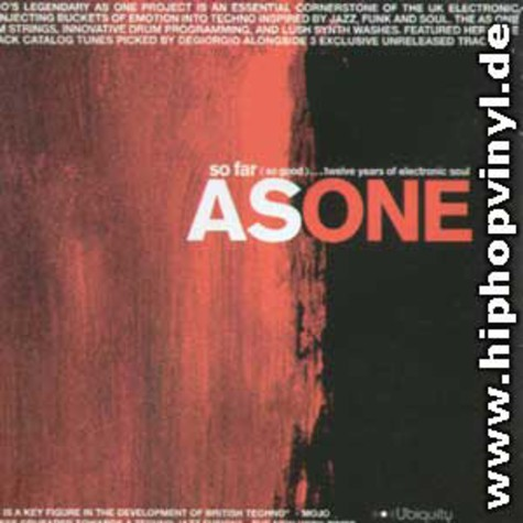 As One - So for (so good)