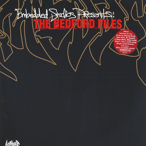 DJ Ese & Hipsta - The bedford files