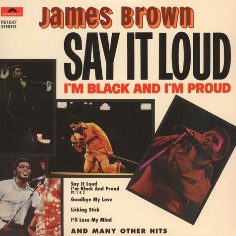 James Brown - Say it loud i'm black and proud