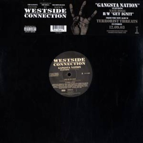 Westside Connection - Gangsta nation feat. Nate Dogg