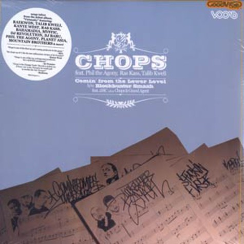 Chops - Comin from the lower level feat. Phil the Agony, Ras Kass & Talib Kweli