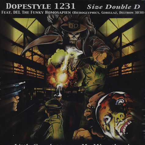 Dopestyle 1231 - Size Double D feat. Del The Funkee Homospien