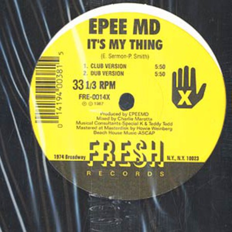 EPMD - Is's my thing