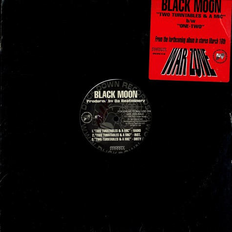 Black Moon - Two turntables and a mic