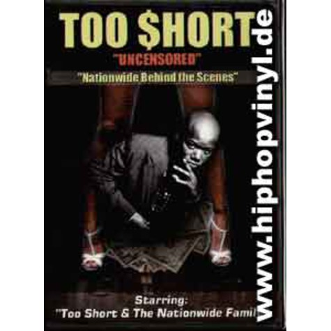 Too Short - Nationwide behind the scenes