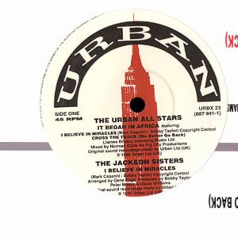 Urban All Stars (Norman Cook) - It began in africa