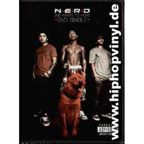 Nerd - She wants to move DVD single