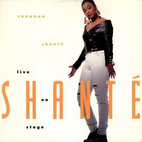 Roxanne Shante - Live On Stage