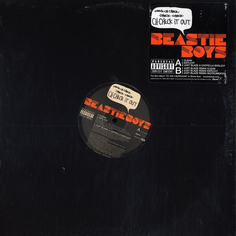 Beastie Boys - Ch-check it out Just Blaze remix