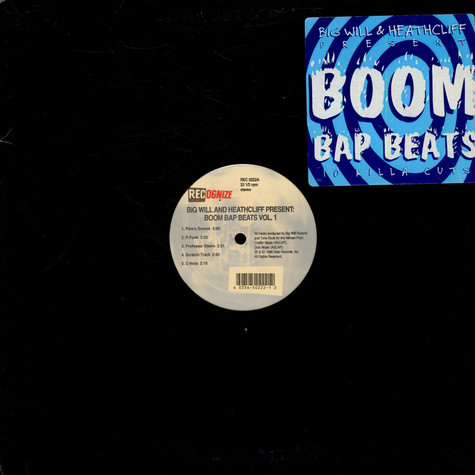 Big Will and Heathcliff - Bomm bap beats vol.1