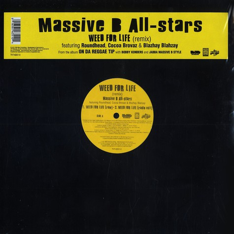 Massive B All-Stars - Weed for life remix feat. Roundhead, Cocoa Brovaz & Blahzay Blahzay