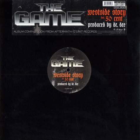 Game of G-Unit - Westside story feat. 50 Cent