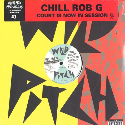 Chill Rob G - The court is now in session