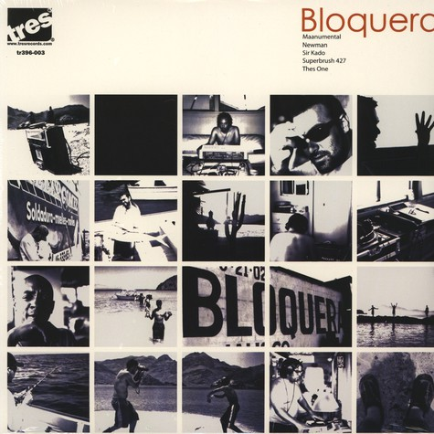 Bloquera (Giant Panda & Thes One of People Under The Stairs) - Bloquera EP