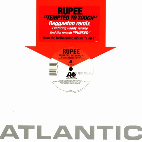 Rupee - Tempted to touch reggaeton remixe feat. Daddy Yankee
