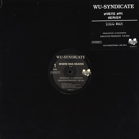 Wu-Syndicate - Where was heaven