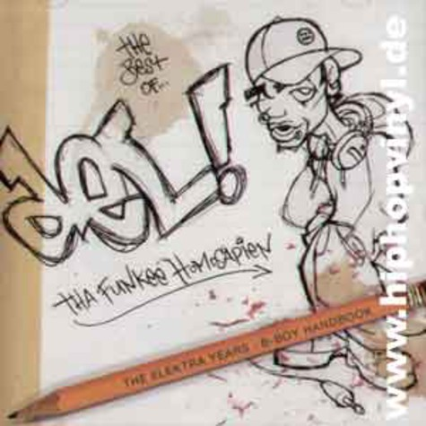 Del The Funky Homosapien - The elektra years - b-boy handbook