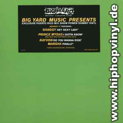 Big Yard presents: - Exclusive mix show sampler
