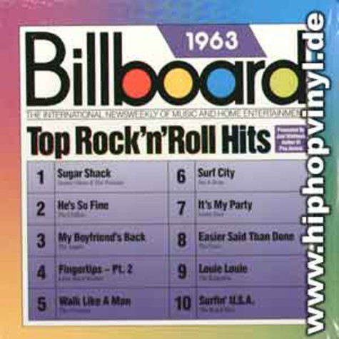 Billboard - Top rock-n-roll hits 1963
