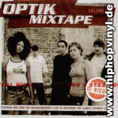 Optik Crew - Optik mixtape volume 1