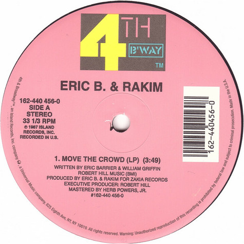 Eric B. & Rakim - Move the crowd