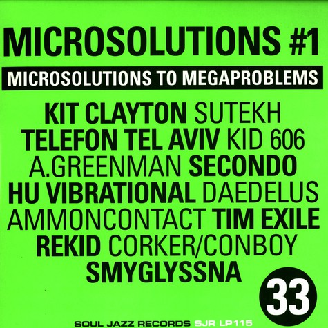 V.A. - Microsolutions to megaproblems