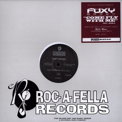 Foxy Brown - Come fly with me feat. Sizzla