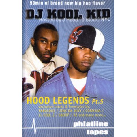 DJ Kool Kid & J Hood - Hood legends