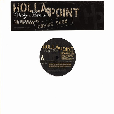 Holla Point - Baby mama feat. Three 6 Mafia