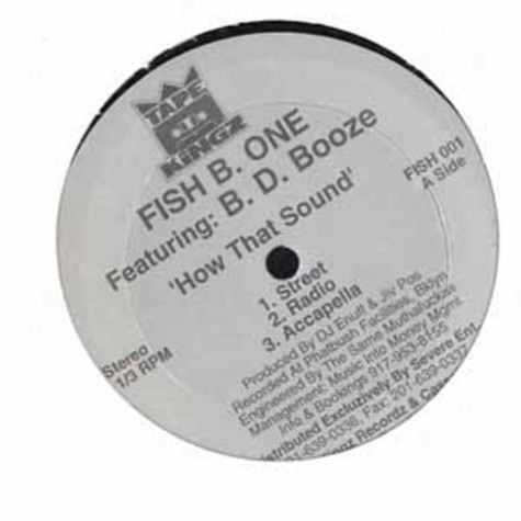 Fish B. One - How that sound