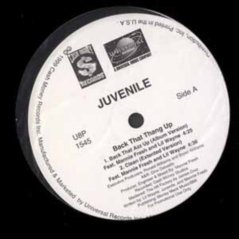 Juvenile - Back that thang up