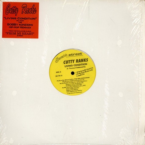 Cutty Ranks - Living Condition (Bobby Konders Hip-Hop Remixes)