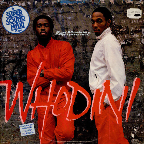Whodini - Rap Machine