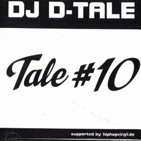 hiphopvinyl.de presents : DJ D-Tale - Tale 10