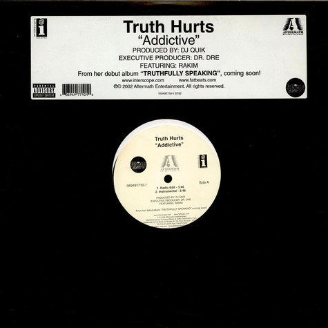 Truth Hurts - Addictive feat. Rakim