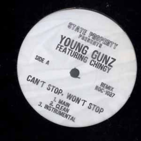 Young Gunz - Cant stop, wont stop