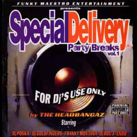 Funky Maestro - Special delivery party breaks volume 1