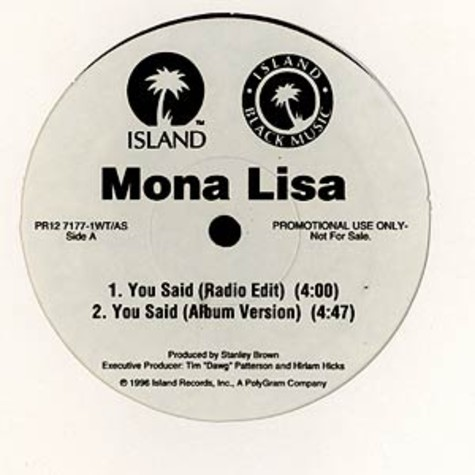 Mona Lisa - You said